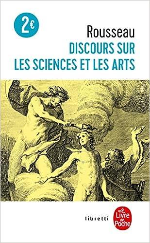 Discours Sur Les Sciences Et Les Arts Amazon Fr Rousseau Jean Jacques Livres