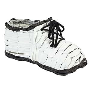 Maceta Zapatos Maceta L 26,5cm rústico Jardín Flechtwaren–Ratán