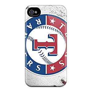 Shock Absorption Hard Cell-phone Case For Iphone 6 (JFb16494nFpf) Customized HD Texas Rangers Image