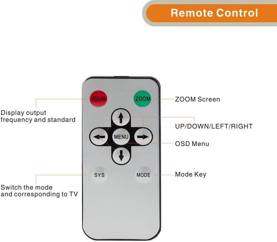 E-SDS - Conversor coaxial HDMI a RF con mando a distancia, función de zoom de señal analógica HDMI a coaxial: Amazon.es: Electrónica