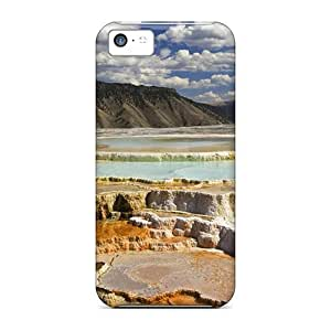 New Style Mwaerke Salt An Minerals Flats Premium Tpu Cover Case For Iphone 5c by lolosakes