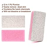 Pumice Stone for Feet, 2 in 1 Double Sided Hard