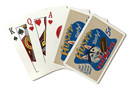 husky-eskimo-pie-retro-ad-playing-card-deck-52-card-poker-size-with-jokers
