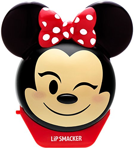 Lip Smacker Disney Emoji Lip Balm, Minnie Strawberry Le-Bow-Nade, 0.26 Ounce