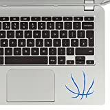 StickAny Palm Series Basketball Lines Sticker for