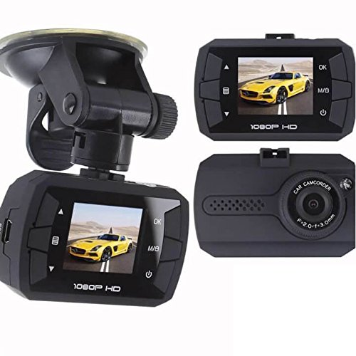 Uniden CAM250 1080p Full HD Dash Cam DVR w/ Night Vision, LCD Screen, Windshield Mount (Certified Refurbished)