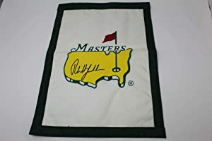 Phil Mickelson Signed Autograph Masters Garden Flag - Golf, Masters, Augusta - Autographed Golf Equipment