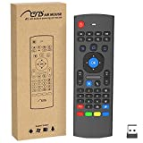 Aerb Multifunction 2.4 G Air Mouse Mini Wireless Keyboard & Infrared Remote Control & 3-Gyro + 3-Gsensor W USB Wireless Receiver for Google Android Smart TV Box G Box IPTV HTPC Mini PC Windows iOS MAC Linux PS3 Xbox 360