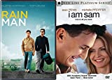 Heartwarming, Funny and Special Films Collection - I Am Sam & Rain Man 2-DVD Bundle