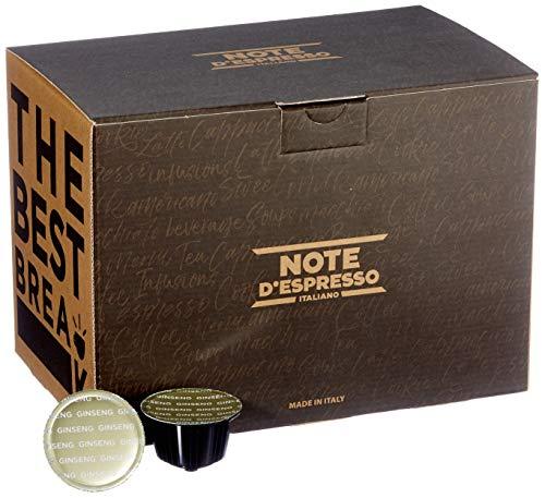 Note D'Espresso Ginseng Instantkapseln,ausschließlich Kompatibel mit Nescafé* und Dolce Gusto* Kapselmaschinen 8,5Â g x 48 Kapseln