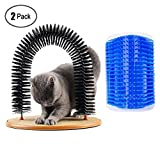 2 Pack Arch Cat Groom Self Grooming Cat Toy Cat Self Groomer,Cat Self Groomer and Massager