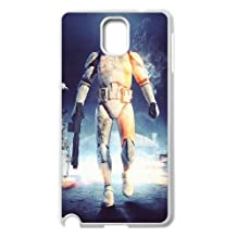 Stormtrooper Series, Samsung Galaxy Note 3 Case, Star Wars Case for Samsung Galaxy Note 3 [White]