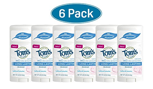 Tom's of Maine Powder Long-Lasting Stick Deodorant, 2.25 ...