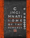 Photo File Eye Chart Vert Cincinnati Bengals Unframed Poster 11x14 Inches