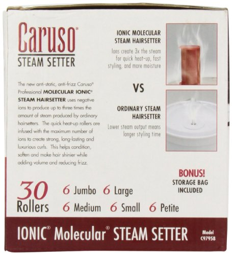 Caruso Professional IONIC Molecular 30-Piece Multiple Size Steam Hair Setter by Caruso (Image #1)