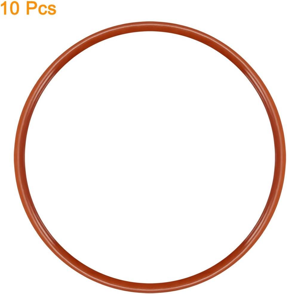 Handarbeiten geschwei/ßt Ring f/ür Hardware-Taschen 2 St/ück sourcing map Mehrzweck-Metall-O-Ring-Schnalle 70 mm x 60 mm x 5 mm