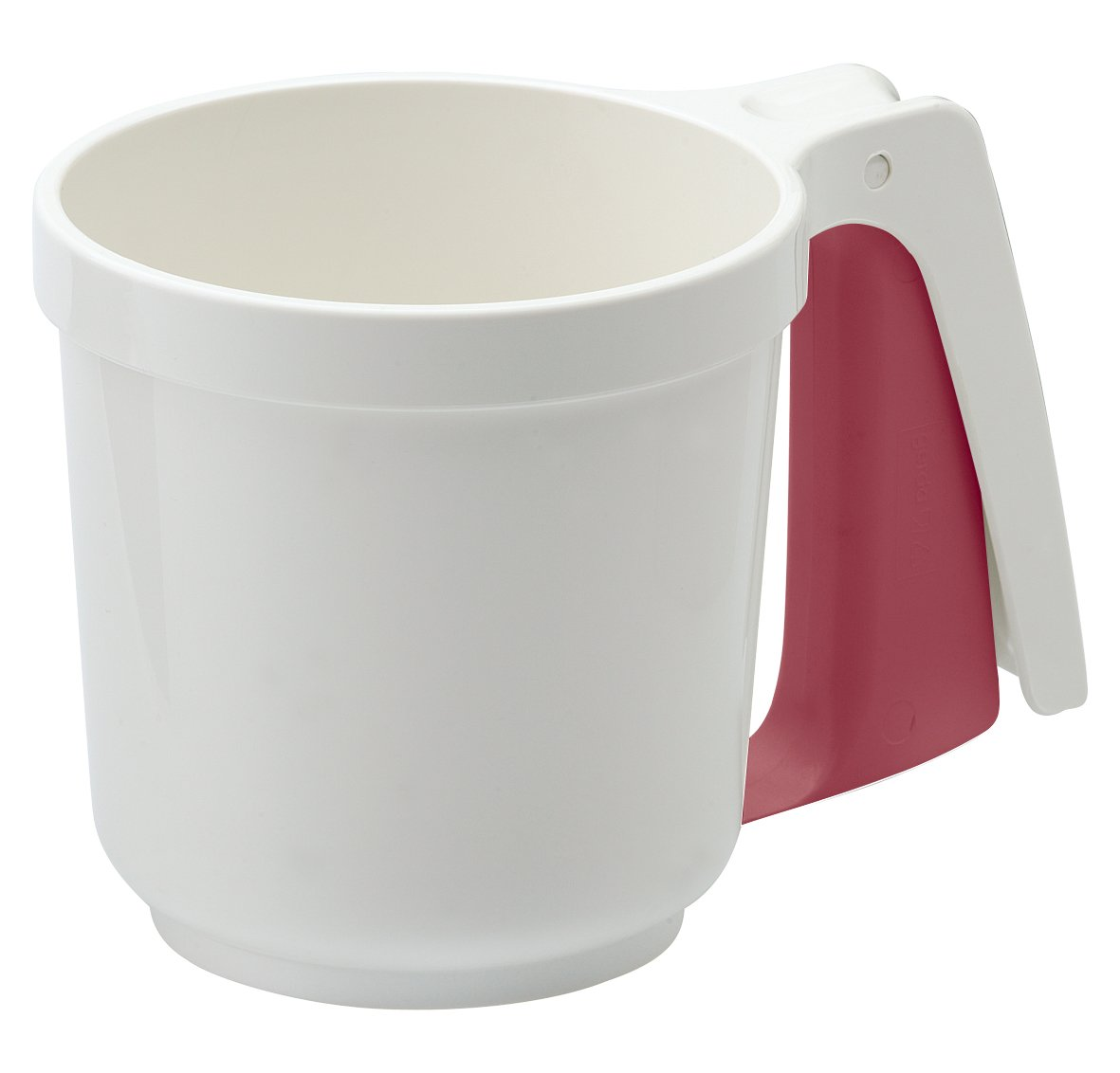 Westmark 32142270 Flour- And Icing Sifter, 6'' x 4'' x 4'', White/Red by Westmark