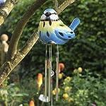 Smart Garden Solar Ceramic Bird Wind...