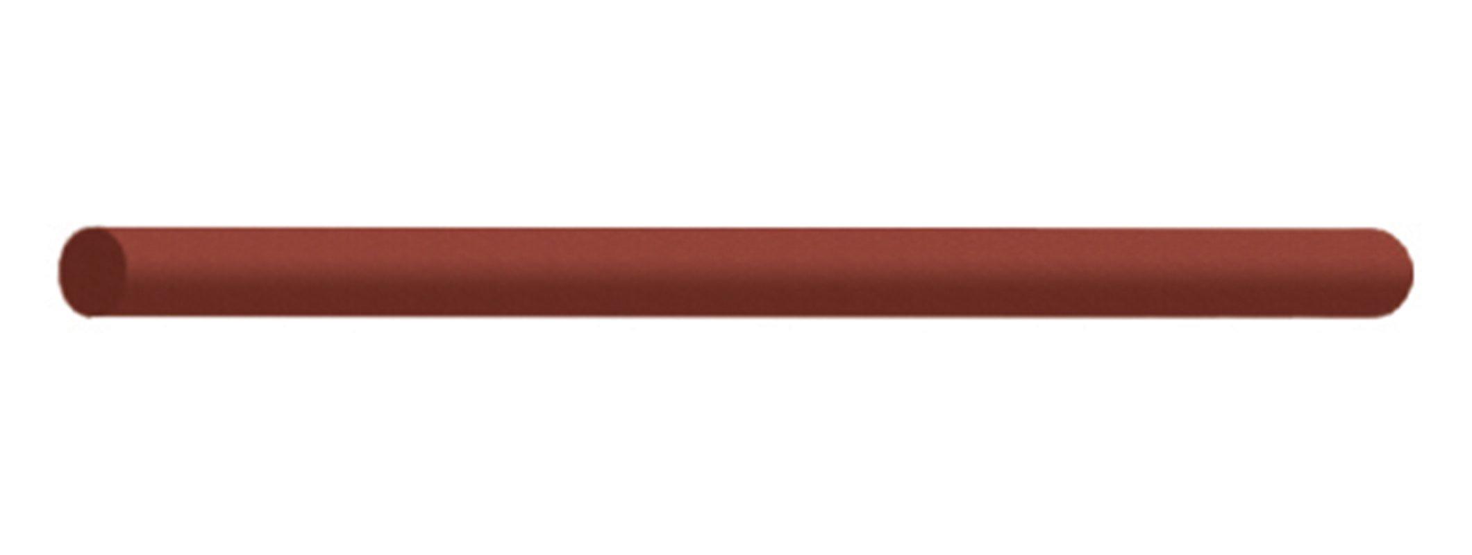 Coarse Black Dedeco 0222 Rubberized Abrasive Block//Stick 6 x 3//16 Silicon Carbide Round