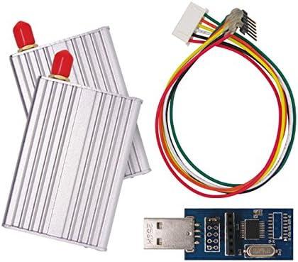 G-NiceRF 2PCS SV612 RS485 915 100mW si4432 gfsk-433 Wireless Transmitter Receiver RF Module
