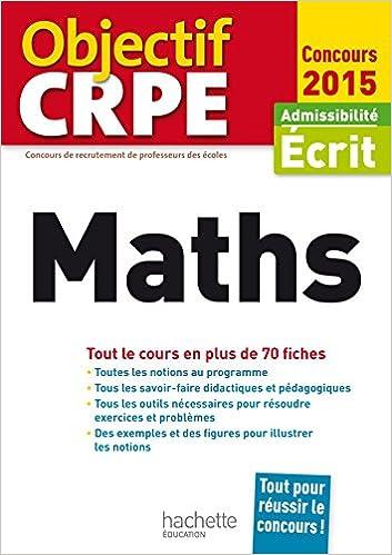 Lire un CRPE en fiches : Maths epub pdf