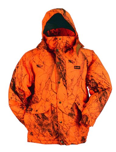 (Gamehide Deerhunter Blaze Orange Camo Parka (Naked North Blaze Orange Camo, X-Large))