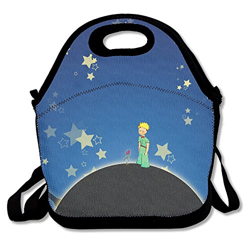 - SuperWW Le Petit Prince Lunch Bag Tote Handbag