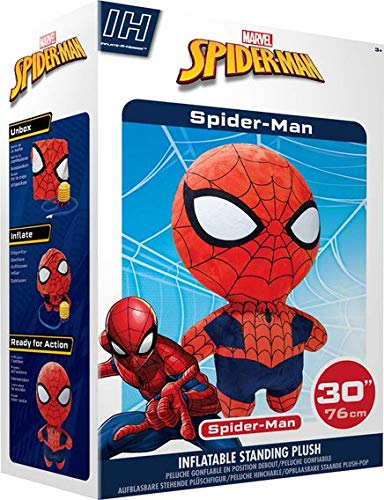 MARVEL AVENGERS INFINITY Wars Spiderman Gonflable debout Peluche