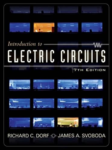 introduction to electric circuits richard c dorf, james a svoboda