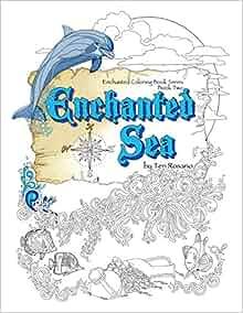Amazon Enchanted Sea Coloring Book Enchanted