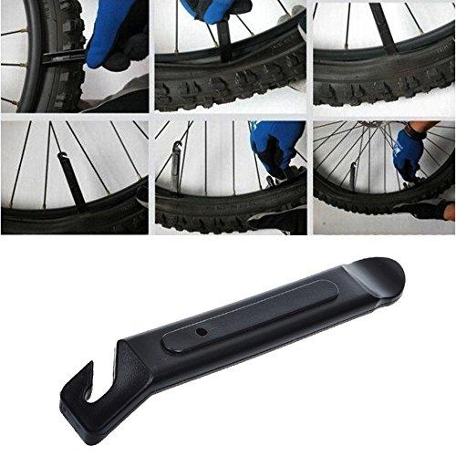 KLOUD City® Pack of 10 Black Plastic Bicycle Bike Tire Leve