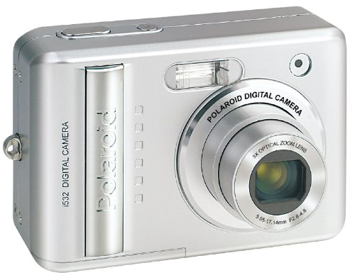 Polaroid i532 5MP 3x Optical/4x Digital Zoom Camera (Silver)