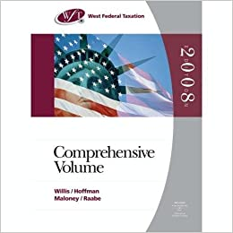 West Federal Taxation 2008: Comprehensive Volume (with RIA Checkpoint Online Database Access Card, Turbo Tax Business CD-ROM, and Turbo Tax Basic) 31st ...