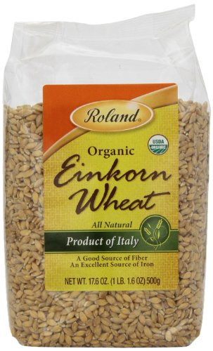 Roland Wheat, Organic Einkorn, 17.6 Ounce (Pack of 12)