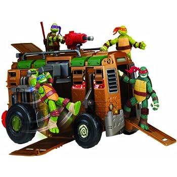 Amazon Com Teenage Mutant Ninja Turtles Movie Van Toys