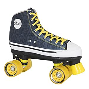 Amazon.com: HUDORA Roller Skates Azul Denim Disco Roller ...