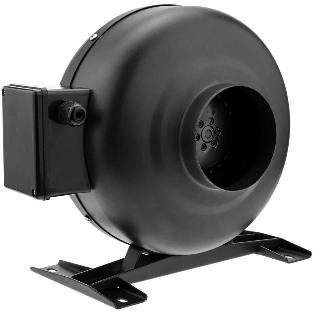 PrimeMatik - Ventilateur de Tube de 100 mm. Extracteur de Conduit en Ligne pour Ventilation Industrielle PrimeMatik.com