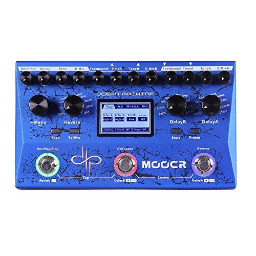 MOOER Ocean Machine Premium Dual Delay Reverb and Looper