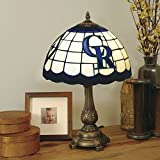 MLB Colorado Rockies Tiffany Table Lamp