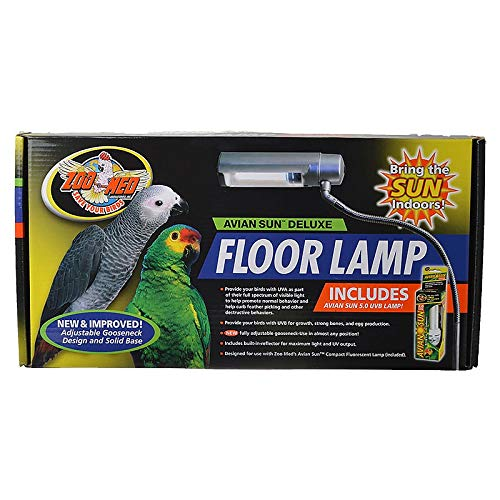 Zoo Med Labs Aviansun Deluxe Floor Lamp with Aviansun