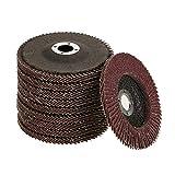 Grinding wheels - 10Pcs 60 Grit Grinding Sanding Wheel Flap Disc for Angle Grinder, 100 * 6 * 16 mm