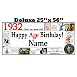 1932 DELUXE PERSONALIZED BANNER by Partypro