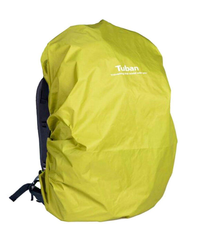 アウトドアRidingバックパック雨カバー防水バックパックcover-40 Lイエローグリーン   B01828DWYC