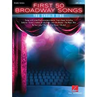 Image for First 50 Broadway Songs You Should Sing: Low Voice