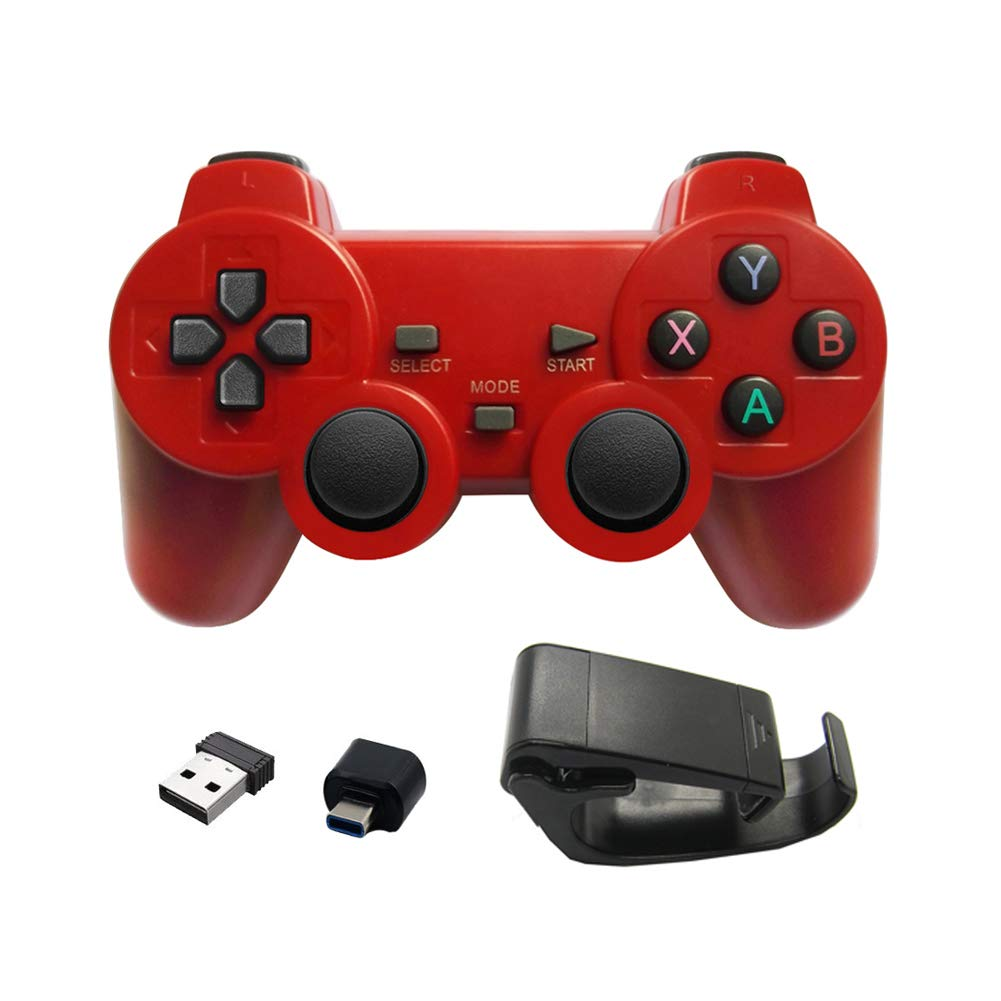 CARDMOE Android type-c Phone/PC/PS3/TV box Gamepad joystick per smartphone 2.4  G Wireless Gamepad per Smart Phone