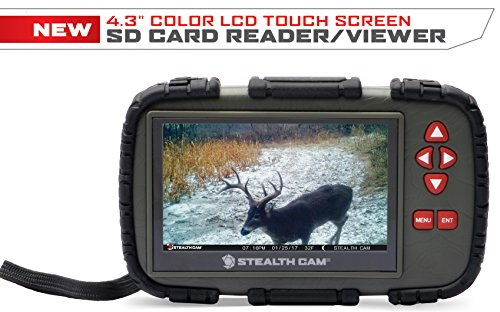 Stealth Cam STC-CRV43X SD Card viewer 4.3