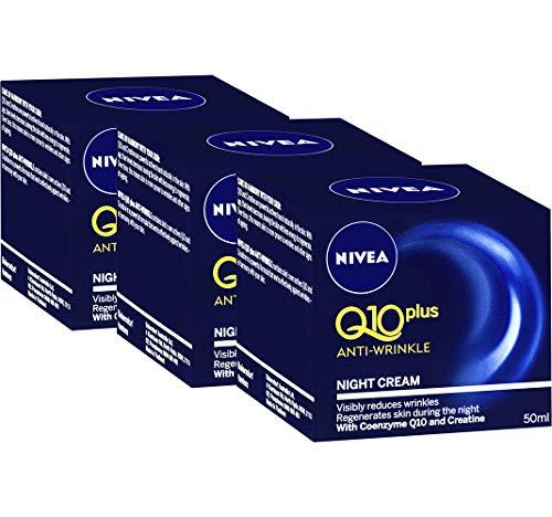 Nivea Visage Q10 Plus Anti Wrinkle Night Care 50 ML Pack 3