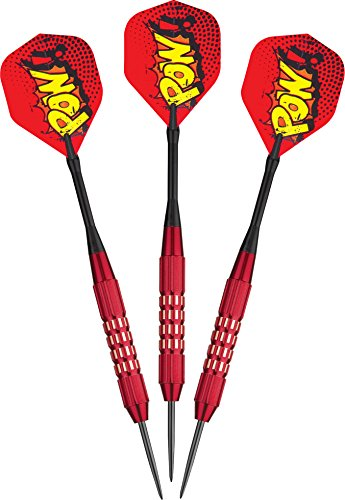 Viper Comix Steel Tip Darts: POW (Red), 22 Grams (Red Tip)