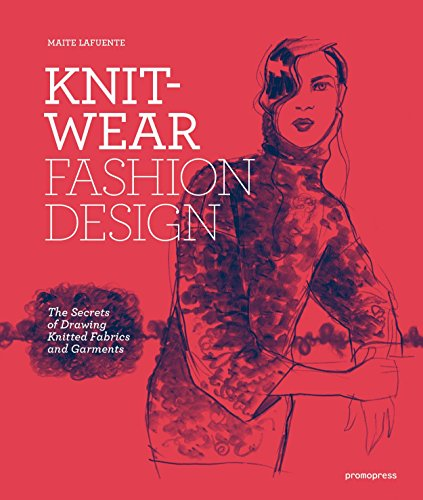 Knitwear Fashion Design: The Secrets of Drawing Knitted Fabrics and (Spain International Costume)