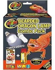 Zoo Med 26345 Bearded Dragon Lamp Combo Pack